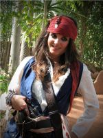 Elo Sparrow pose by elodie50a
