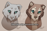 [Pay to Use] Wolf pup by HikariSilverEye