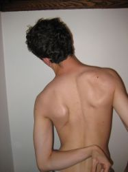 Stock - Male Back I by mousiestock