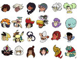 Indivisible Sticker Set by magusVroth