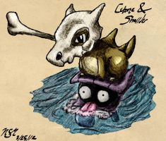 Cubone and Shellder