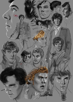 12 Benedict study by harbek