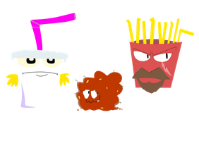 Aqua Teen Hunger Force by NutellaOnToast