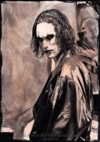 The Crow - Eric Draven by Shamaanita