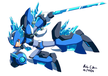 Commission: Blue Dragon Armor by innovator123