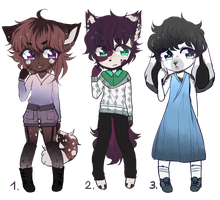 POINT AUCTION OPEN - (collab with Jinx-Delly) by Meroji-adopts