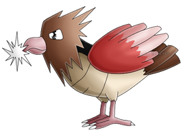 Pokedex #021: Spearow: Peck