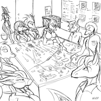 Doodle: Large Scale Ops by Snowfyre