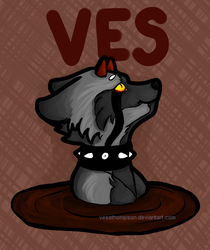 Mud bath Ves Badge by VessThompson