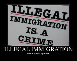 ILLEGAL IMMIGRATION by Balddog4