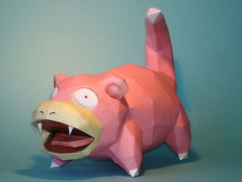 Slowpoke Papercraft