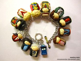 Doctor Who Bracelet by Cinnamonster