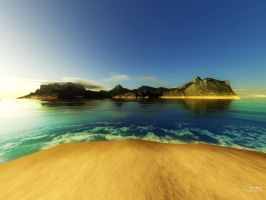 wallpaper: Paradise by kube