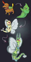 PKMNation: Life Cycle of a Dragonbug by Nefepants