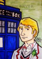 Doctor Who Sketch Cards 5 by WombatOne