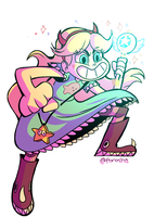 Star Butterfly! by forosha