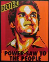 Dexter Duct Tape Art by DuctTapeDesigns