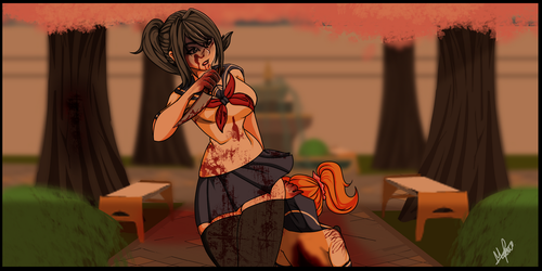 Remeke-Yandere Simulator by Meow-Ku