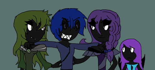 Iruen and His Family by soniathehedgehog64
