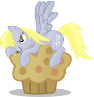 Derpy Hooves - Love for Muffins by abydos91