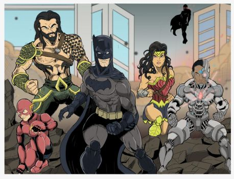JUSTICE LEAGUE by Zaatis