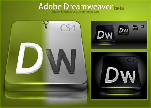 Adobe Dreamweaver CS4 by DragonXP
