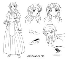 Cassandra design #2 by RedShoulder