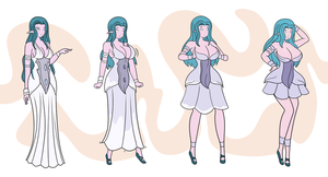 $ Tyrande + Mii (jungle) Essence by DB-Palette