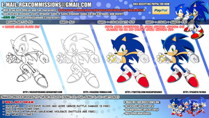Commission Sheet + Prices (Closed for now!) by RGXSuperSonic