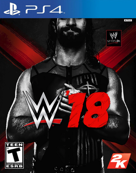 WWE '18 Custom Cover by LastBreathGFX