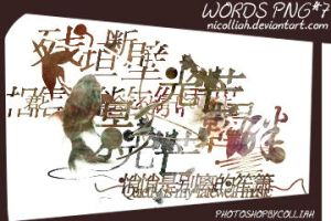 words png*7 by NICOlliaH