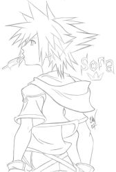 Sora - KH2 by Yeito