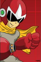 protoman_by_tofer by ToferVs
