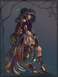 gypsy queen by Harpyqueen