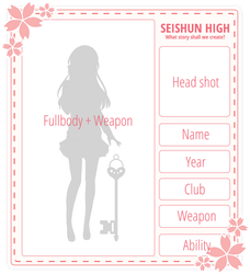 Application Form by SeishunHighPoints