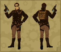 Steampunk Revision 1 by robotbreath