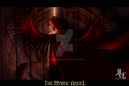 The Mystic Angel by GeneRazART