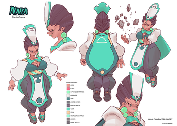 Naha Character Sheet by Sycra