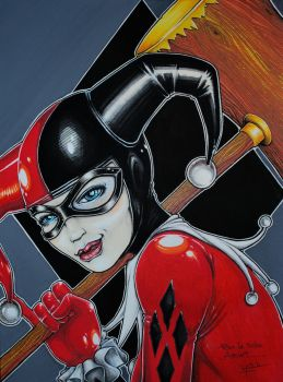 Harley Quinn Commission by YoulDesign