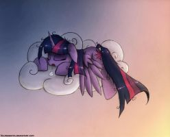Flying Is Hard Work by Vulpessentia