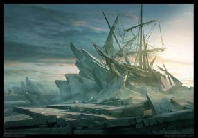 Wreck of Esperance... by Raphael-Lacoste
