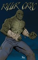 Killer Croc by MikeMahle