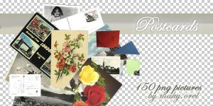 PNG SET: Postcards (part2) by MAKY-OREL