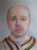 Karl Pilkington - Final Piece by Anita-Sanderson