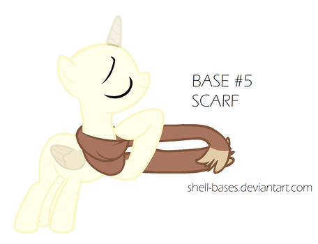 Base #5 Scarf (MS Paint Friendly) by shell-bases