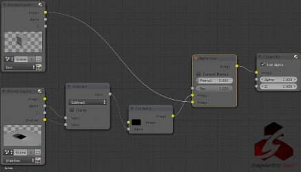 Blender Cycles Shadow Catcher Node by DragonLord720