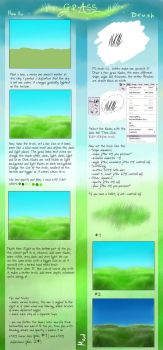 Grass tutorial by calleena