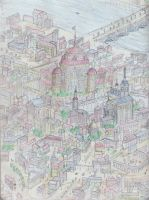 City Scape 3 Color! by shadowshot9