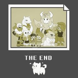 Undertale - The End by RuizaUniverse