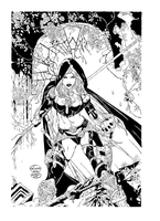 Magdalena cover by ebas inks by gmkal by georgemarios